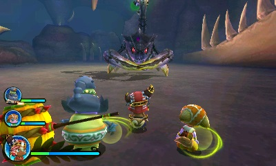 Ever Oasis dungeon