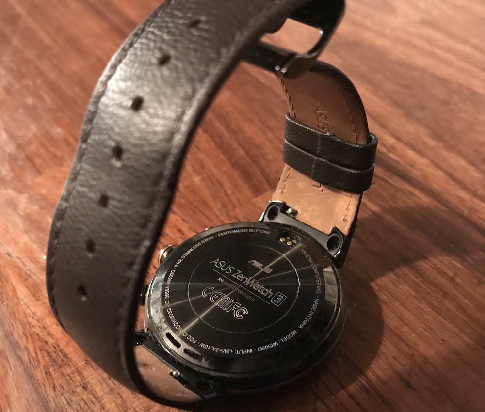 ASUS Zenwatch 3 leather strap