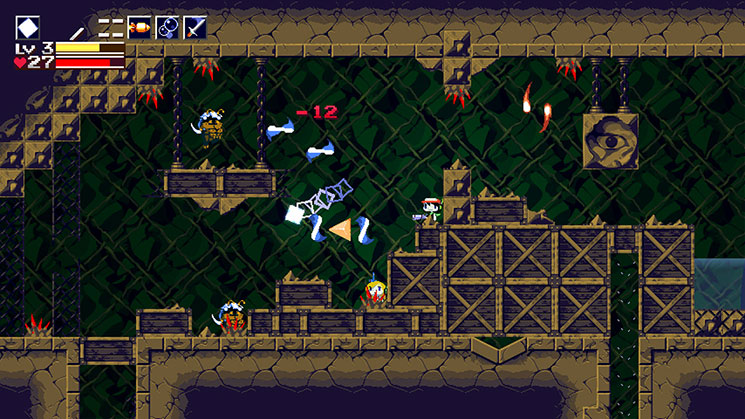 Cave Story+ weapons