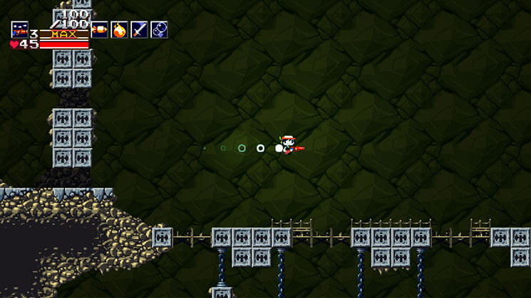 Cave Story+ flying