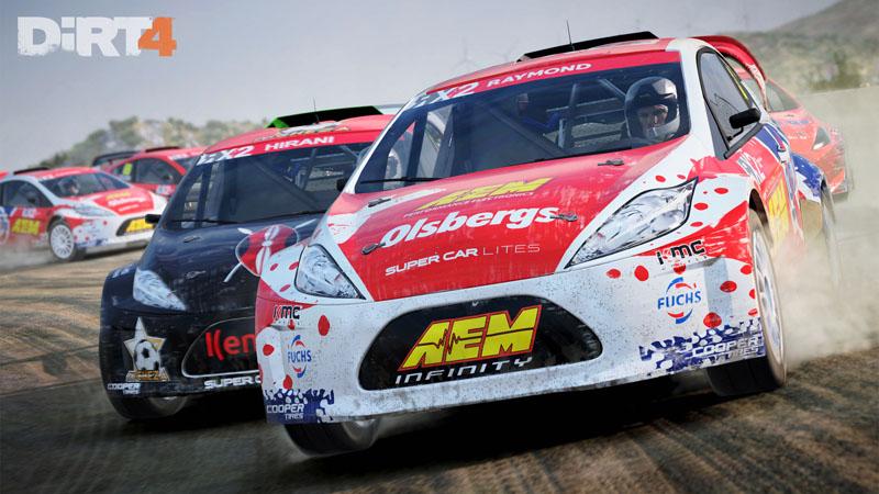 Dirt 4 rally supercar