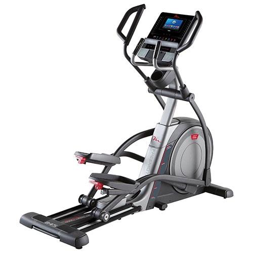 elliptical machine with screen