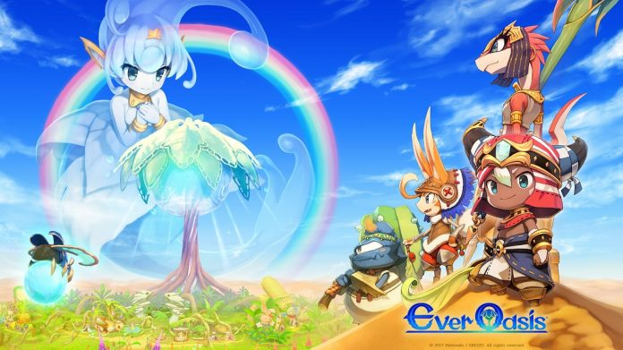 Ever Oasis wallpaper