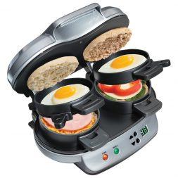 Hamiltin Beach Dual Breakfast Sandwich Maker