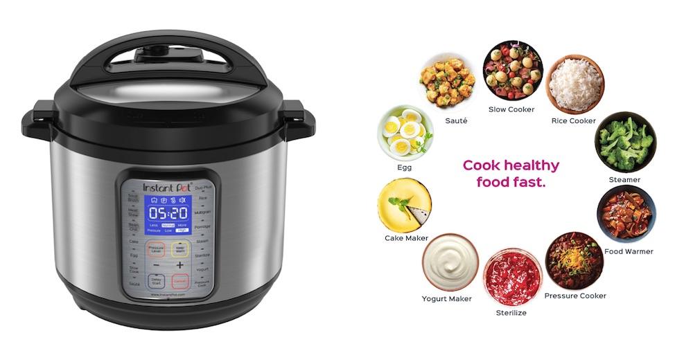 Instant Pot Duo 9-in-1 pressure cooker