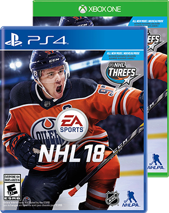NHL 18 covers PS4 Xbox One