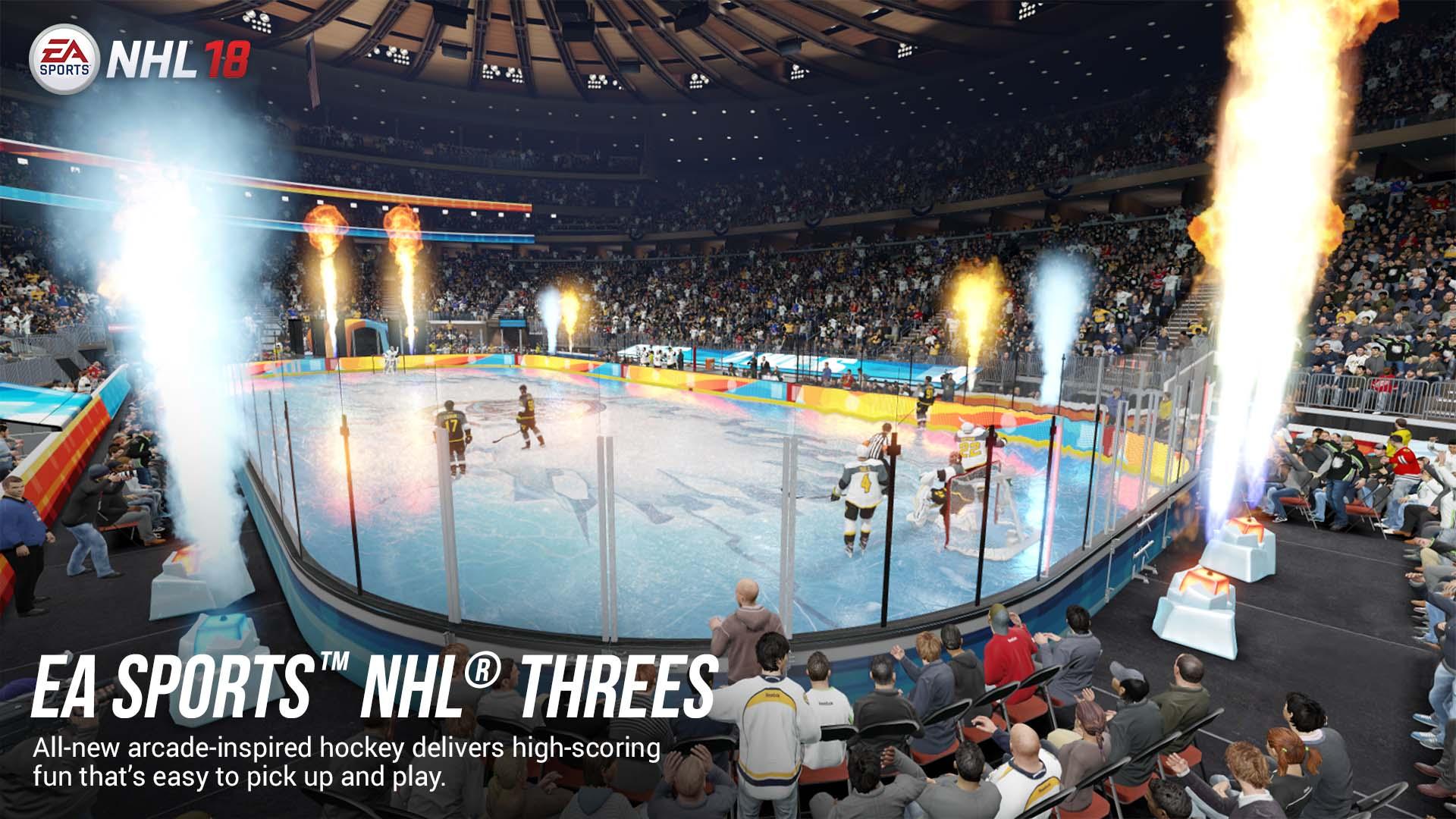 NHL 18 Threes
