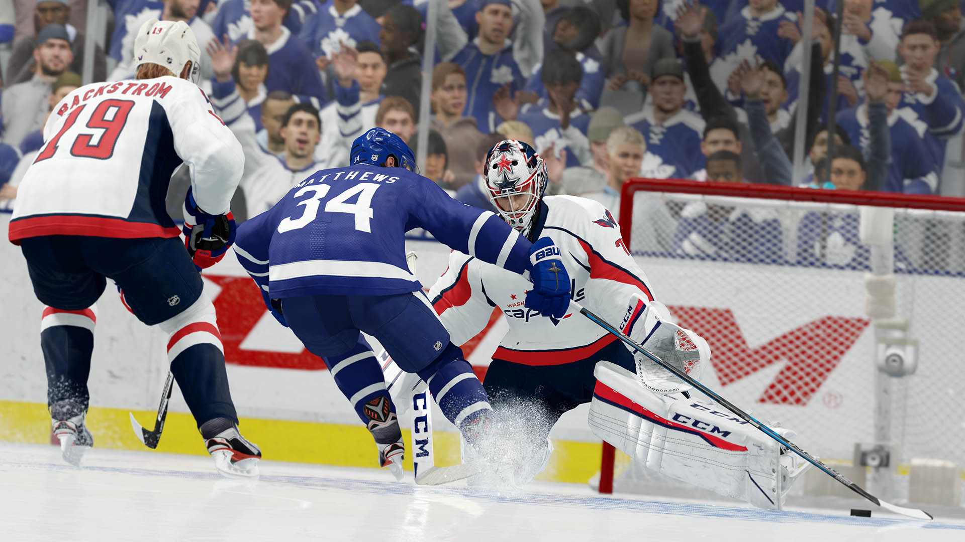 NHL 18 Maple Leafs