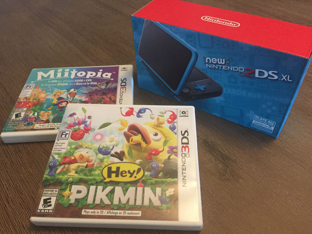 New nintendo 2ds xl miitopia and hey pikmin review for Housse new 2ds xl