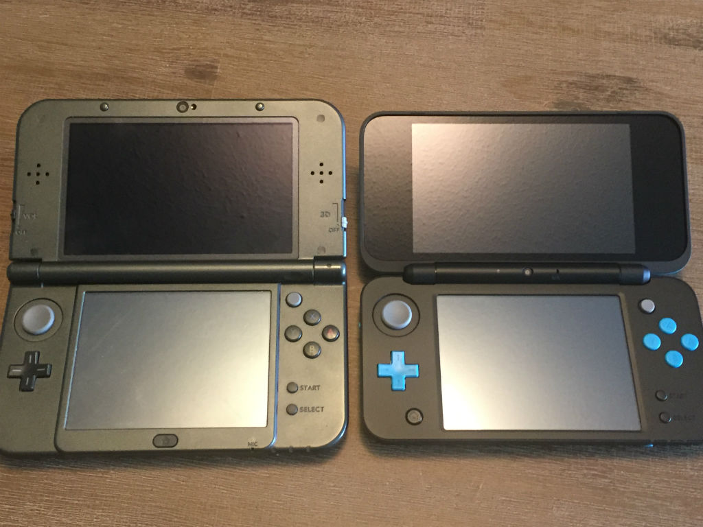 New Nintendo 2DS XL comparison