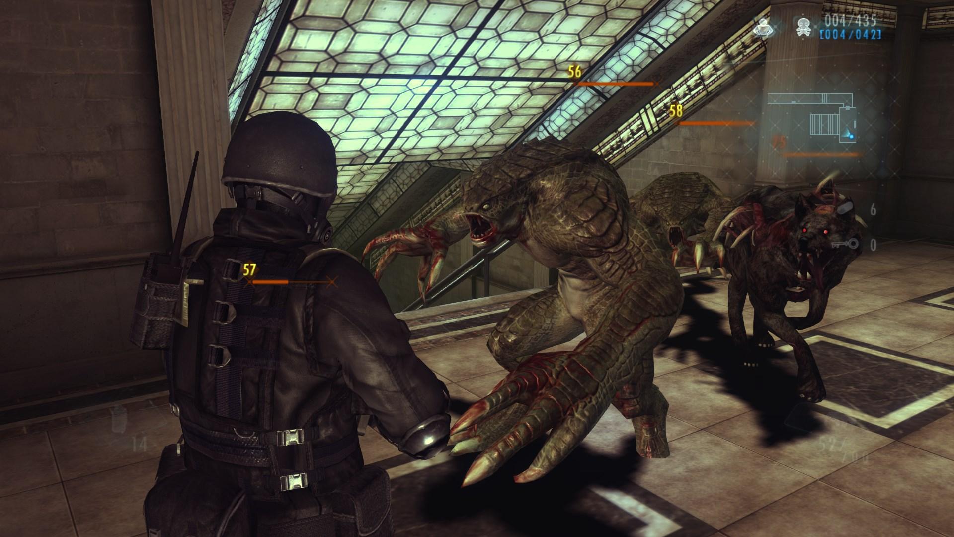 Resident Evil Revelations zombies