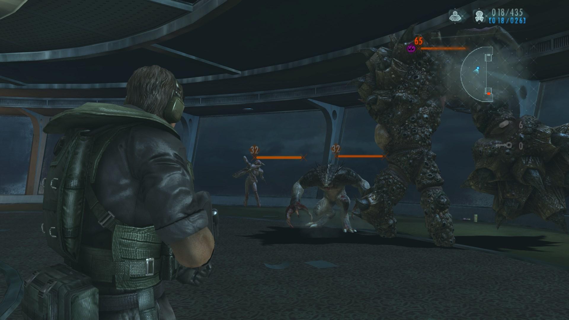 Resident Evil Revelations combat