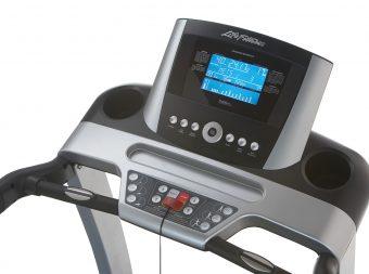 treadmill control panels