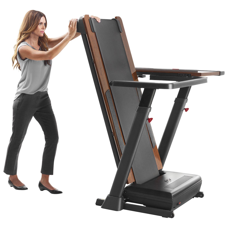 storing a treadmill
