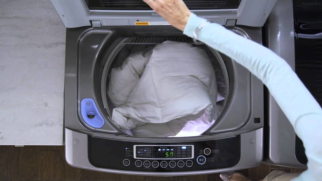 features on washing machines