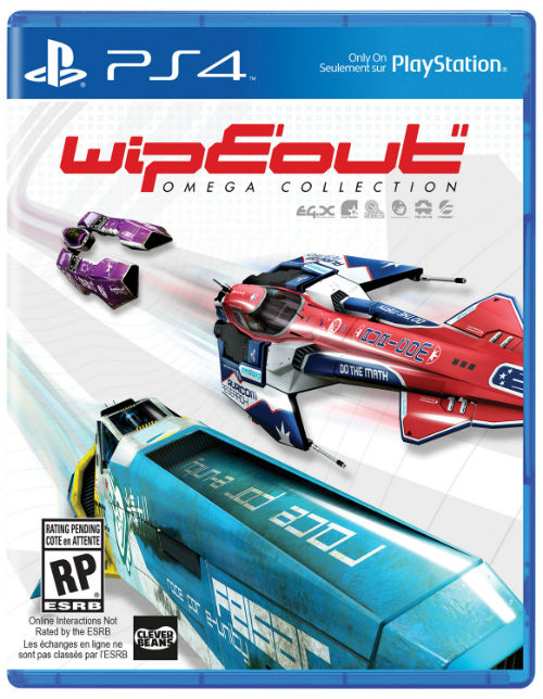 Wipeout Omega Collection PS4 cover