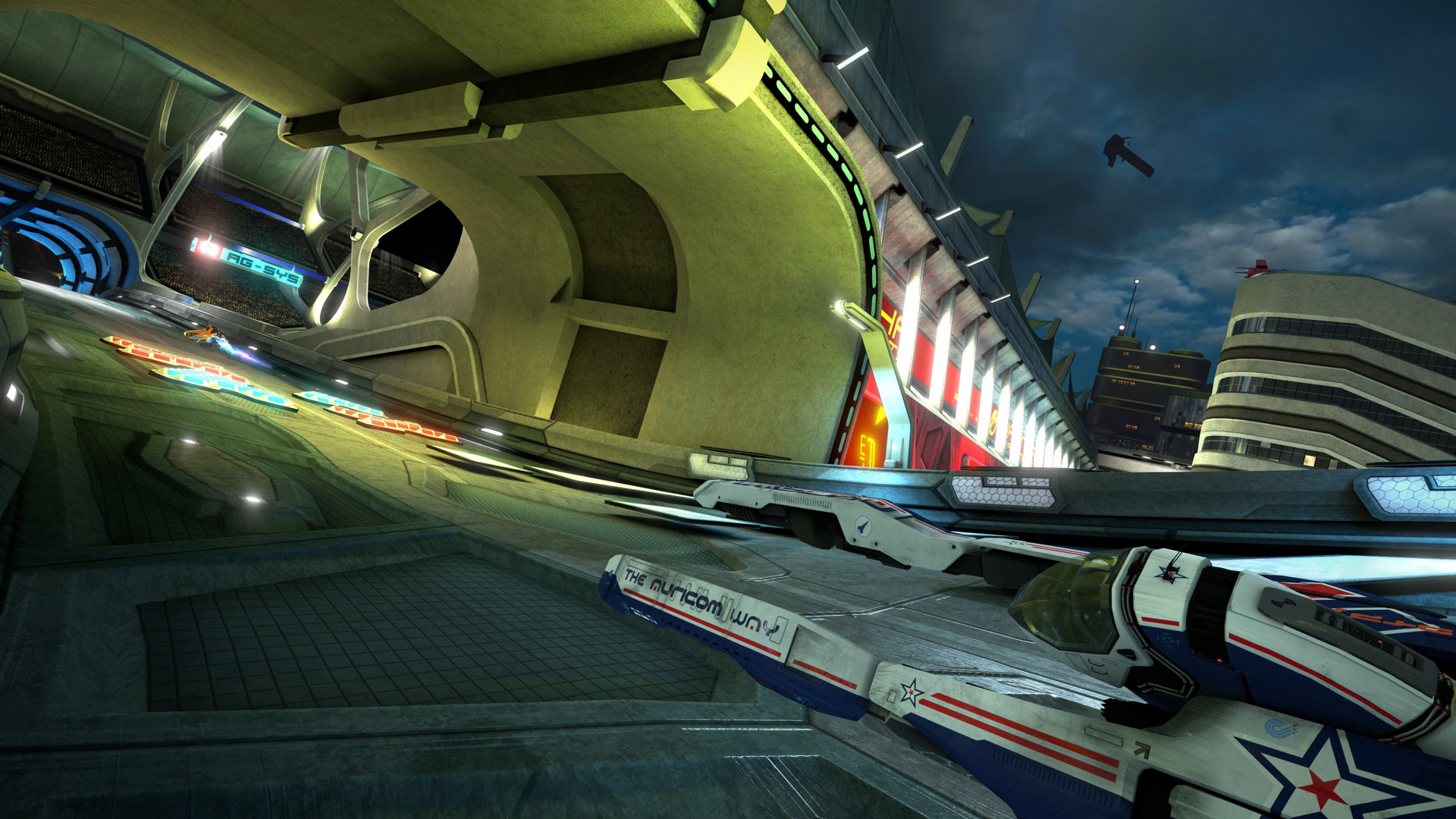Wipeout Omega Collection 4K graphics