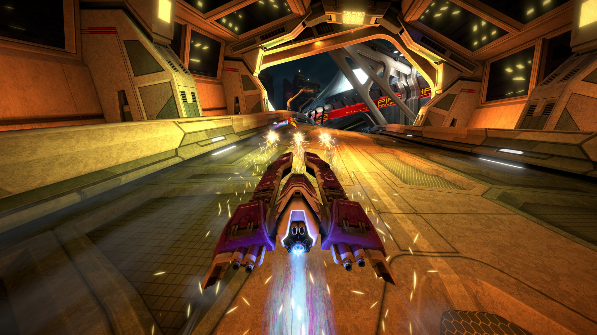 Wipeout Omega Collection anti-gravity