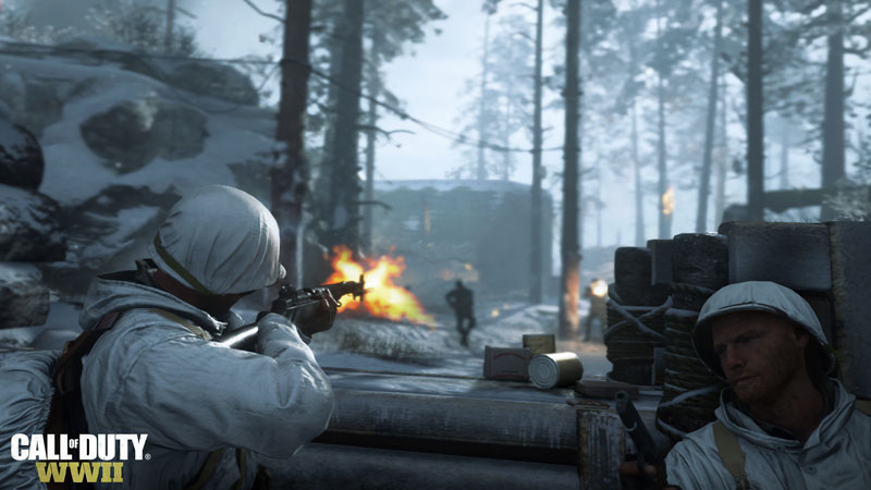 Call of Duty WWII combat