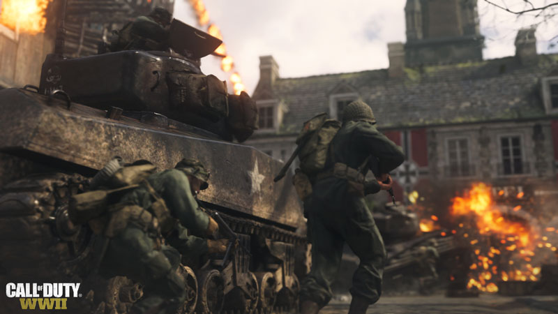 Call of Duty WWII War