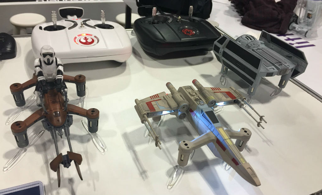 Fan Expo Star Wars drones