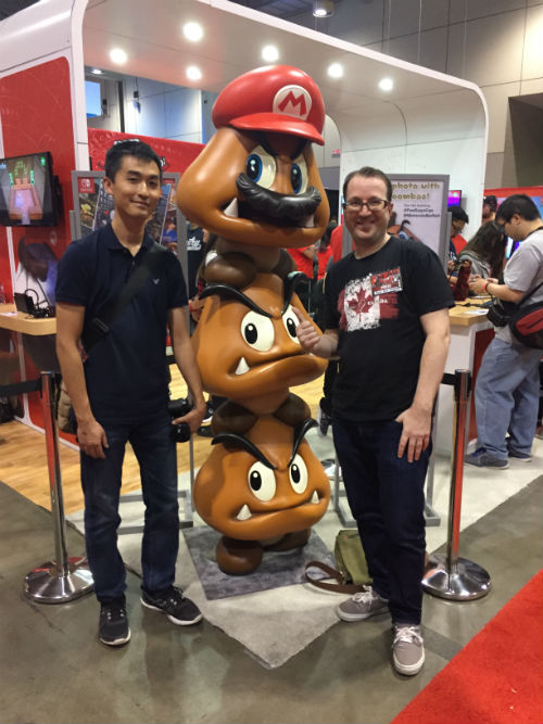 Fan Expo Nintendo