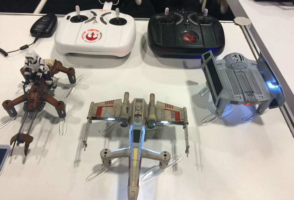 Fan Expo Propel Star Wars drones