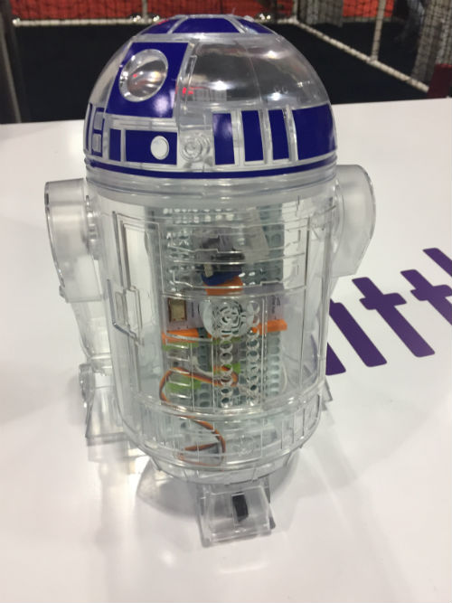 littleBits Star Wars Droid build