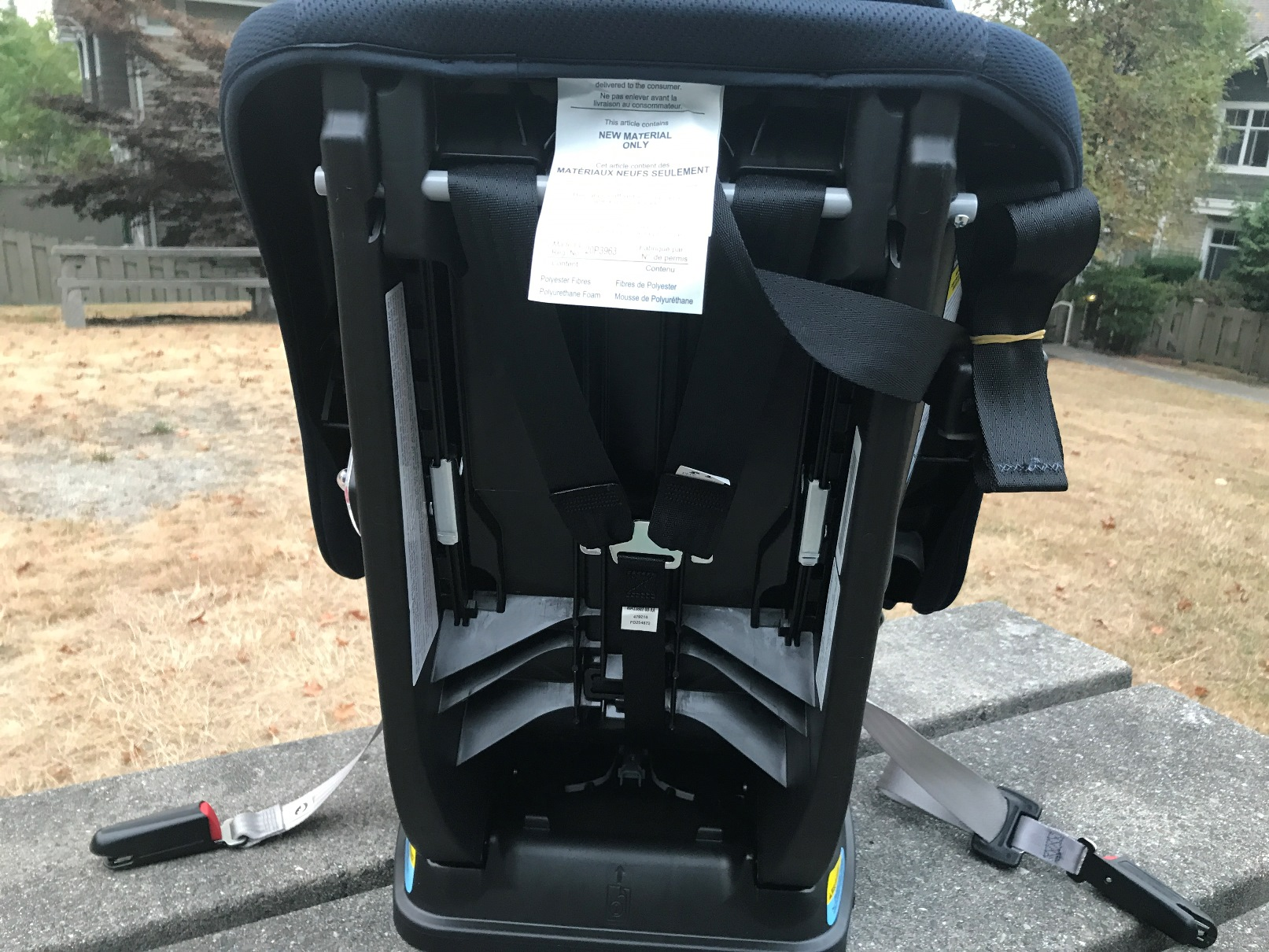 Graco Extend2Fit Seat Back