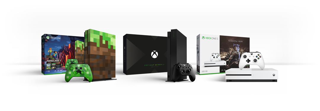 Xbox One Family of Devices