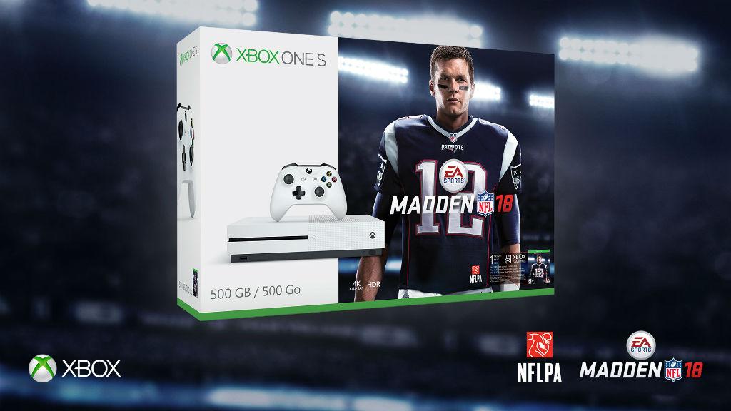 Xbox One S Madden NFL 18 Bundle
