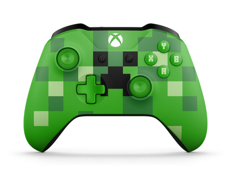 Xbox One S Minecraft Creeper Controller