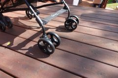 guzzie and guss lightweight stroller front wheels
