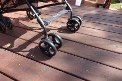 guzzie and guss lightweight stroller front wheels