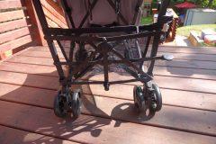 guzzie and guss serien lightweight stroller back knob