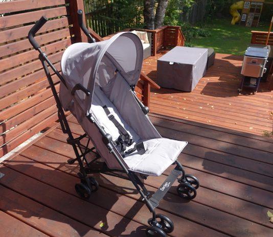 guzzie and guss serien lightweight stroller upright