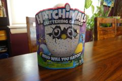 hatchimals glittering garden in box