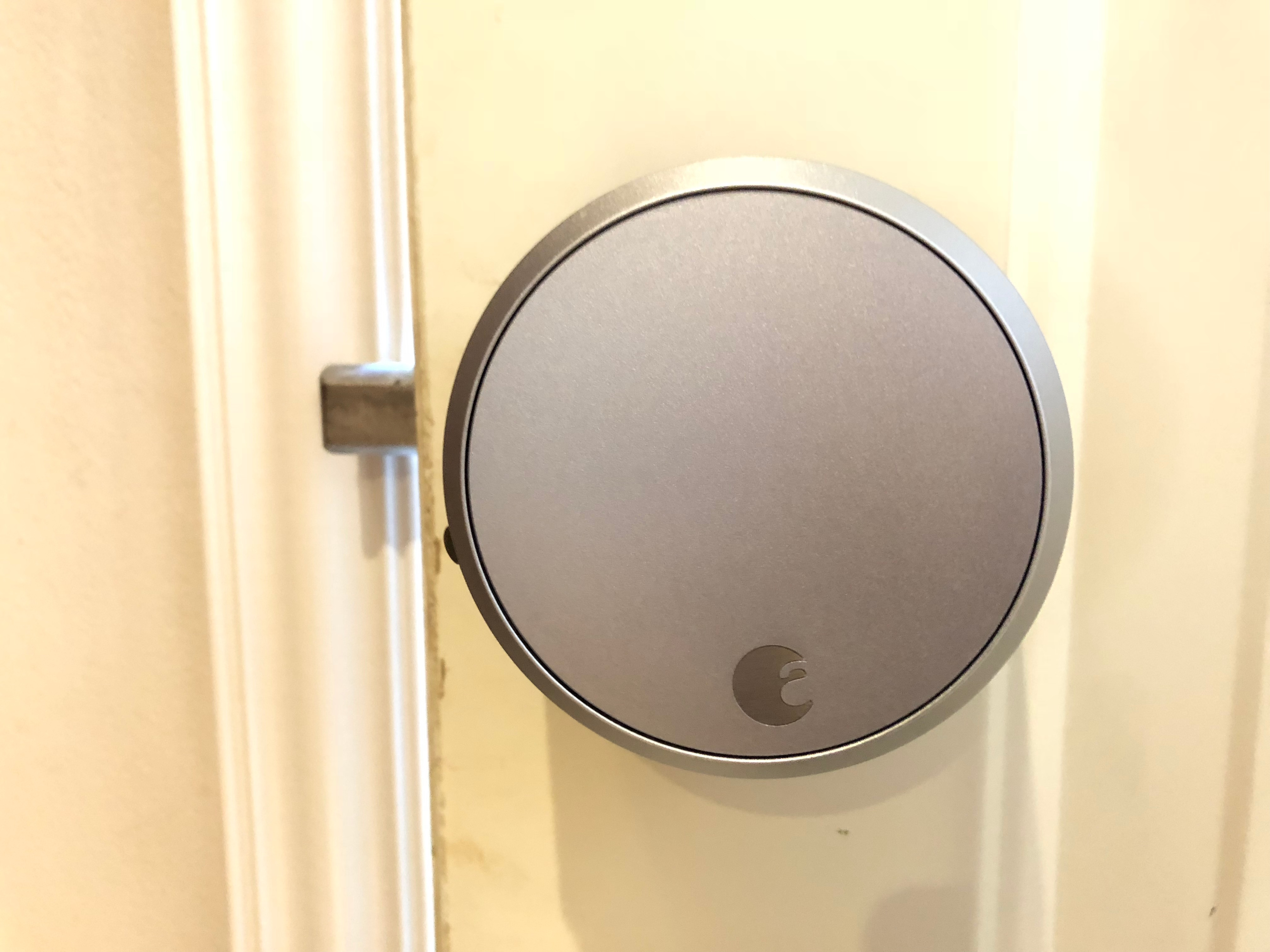 August Wi Fi Smart Lock Pro Connect Silver Smart Locks