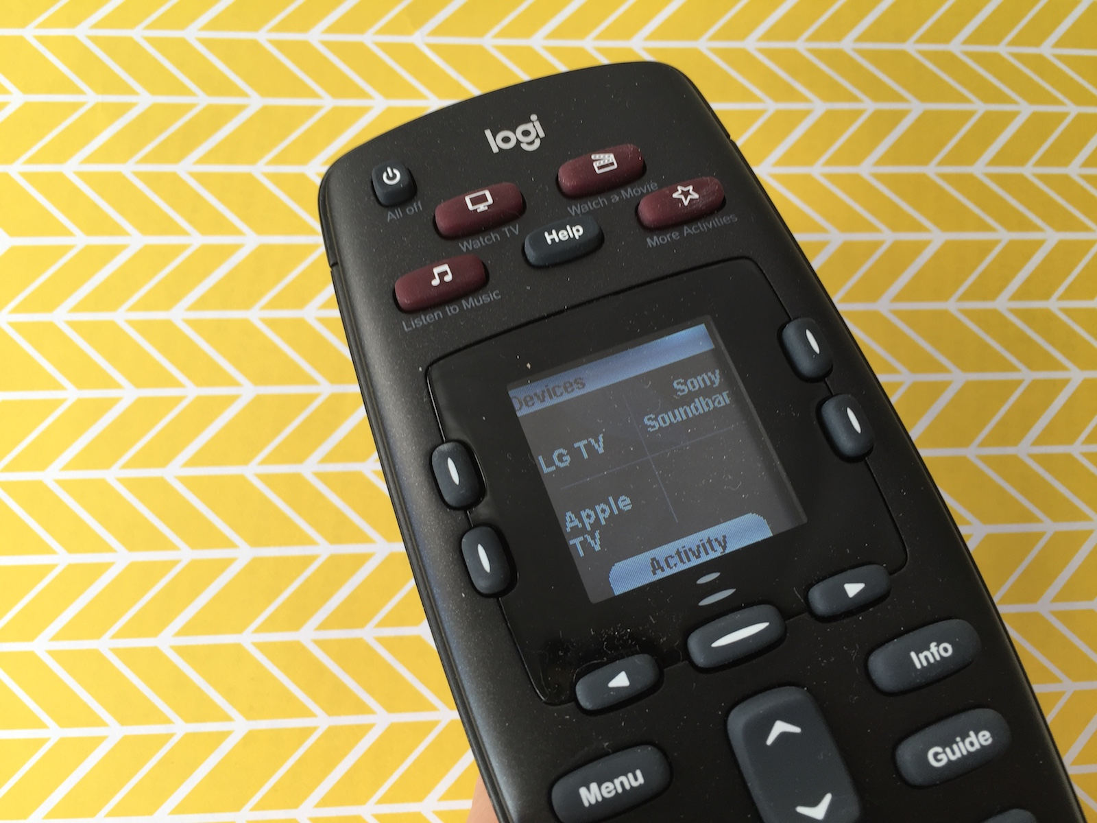 Logitech Harmony 665 universal remote control review | Best Buy Blog