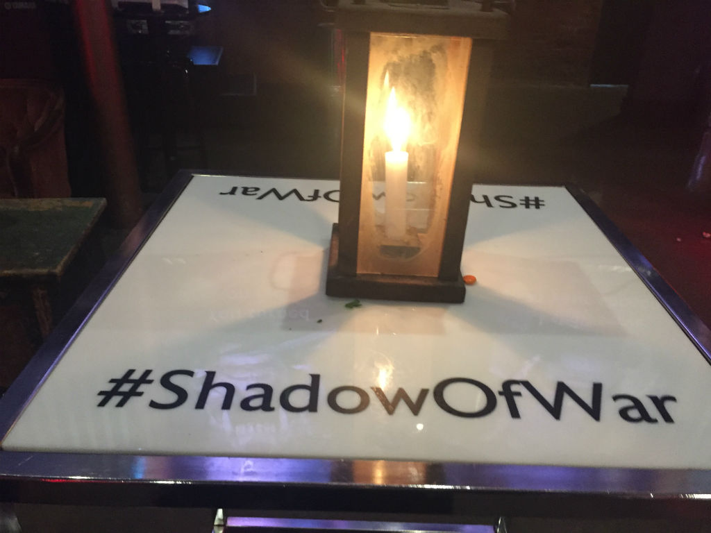Shadow of War event Toronto