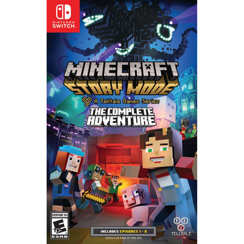 Minecraft Story Mode Nintendo Switch