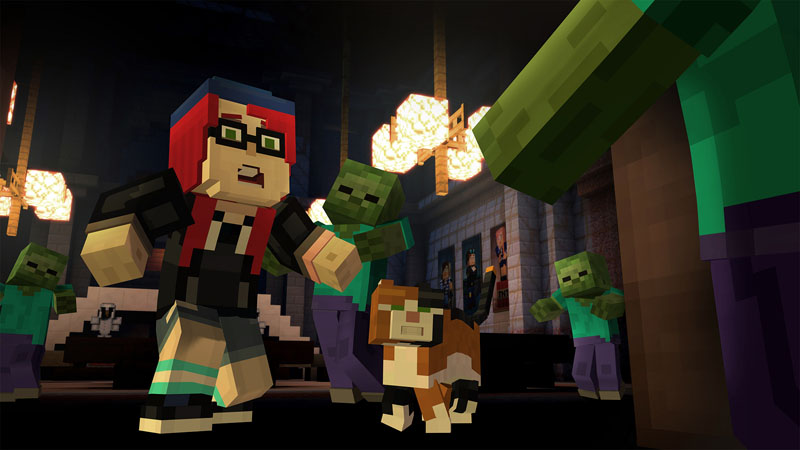 Minecraft Story Mode epic adventure