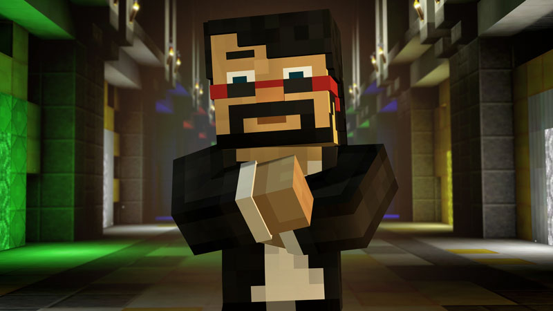 Minecraft Story Mode funny characters