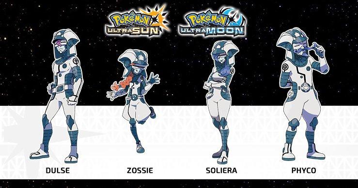 Pokemon Ultra Sun Moon Ultra Recon Squad