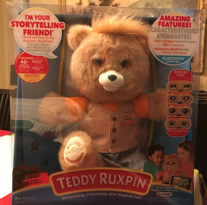 Teddy Ruxpin in Box
