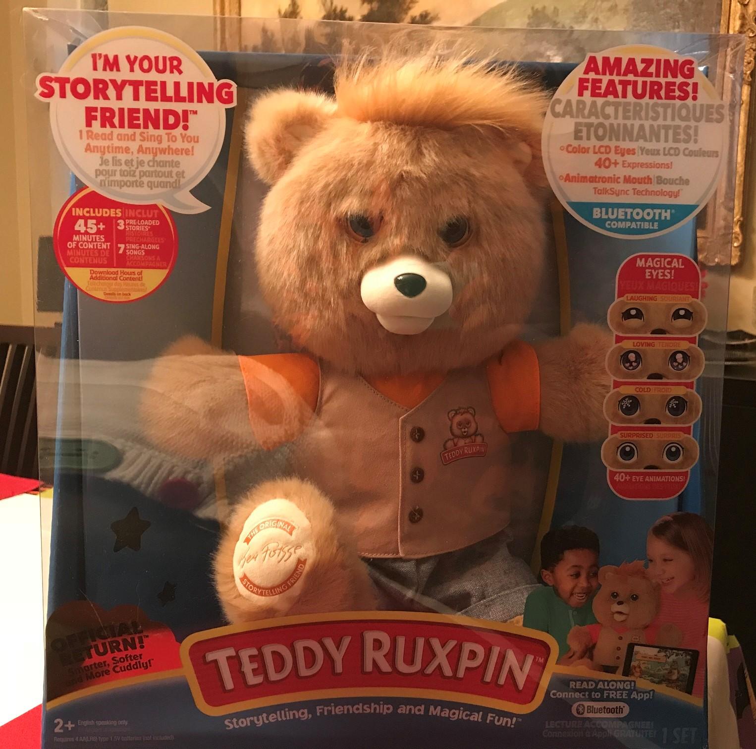Teddy Ruxpin in Box