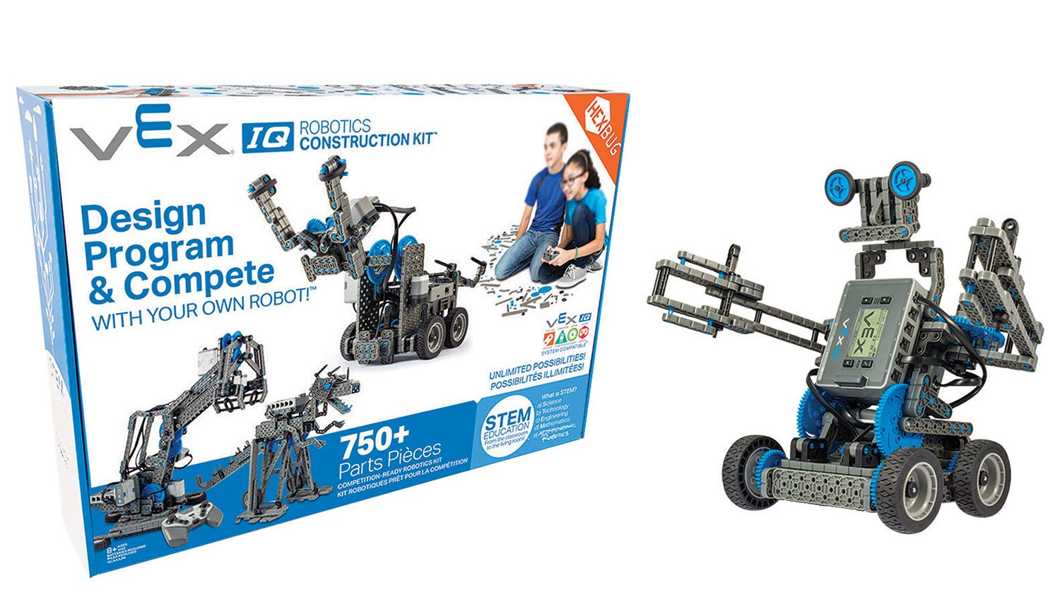 Vex Iq Robotics Construction Kit Review Best Buy Blog