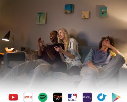 google chromecast with friends