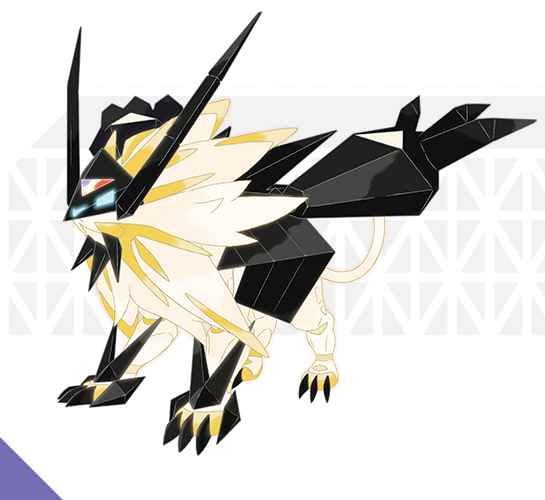 Pokemon Ultra Sun Moon - Dawn Wings Necrozma