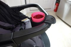 graco views travel system child cup holder